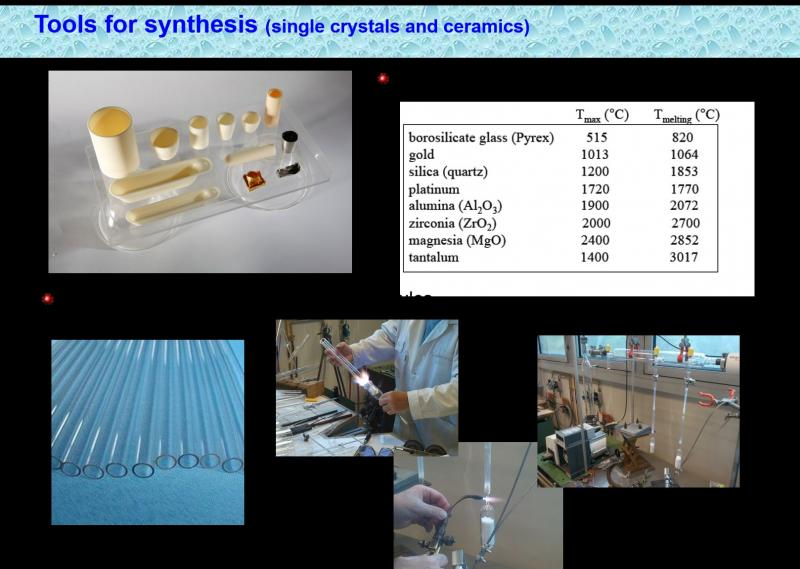 Synthesis and physico-chemical characterization