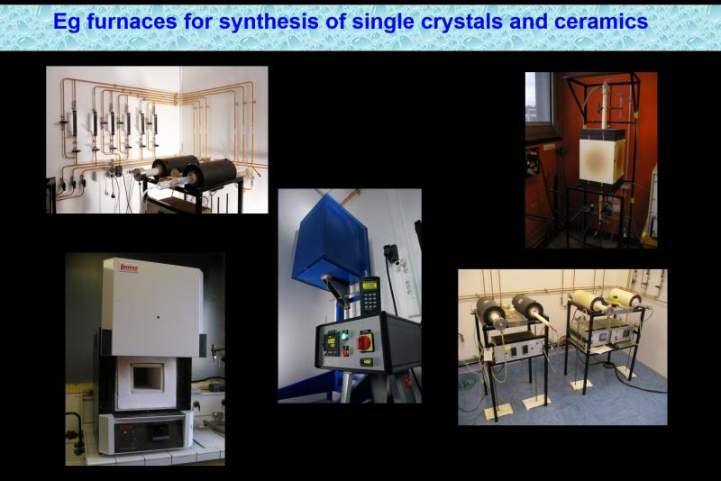 Synthesis and physico-chemical characterization of solid state materials @SPEC/LNO