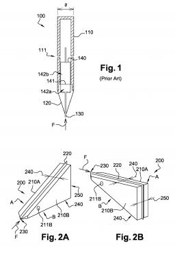 Brevet : Miniature differential pressure flow sensor.
