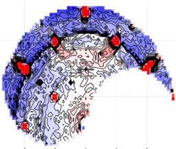 Désordre et glace de spin quantique