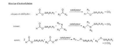Brevet : Utilisation de formiates silylés comme équivalents d'hydrosalines