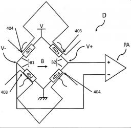 Brevet : Système et procédé de suppression du bruit basse fréquence de capteurs magnéto-résistif