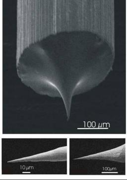 Near field microscopies