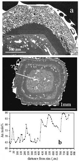 Dynamics of magma mixing and degassing recorded in plagioclase at Stromboli (Aeolian Archipelago, Italy)