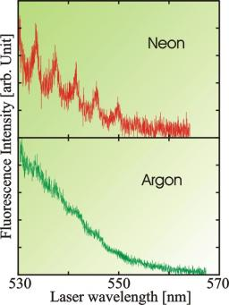 Spectroscopy and dynamics of calcium dimers deposited on large argon and neon van der Waals clusters