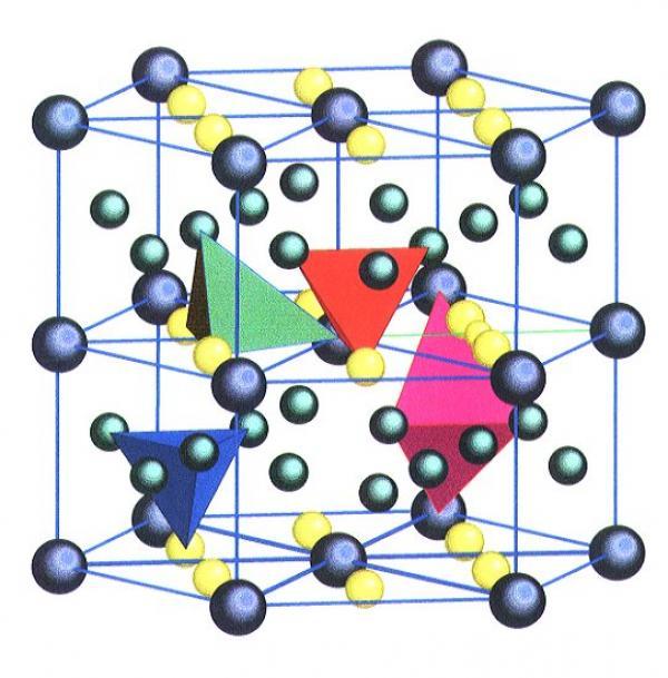 Structures et transitions de phases