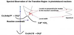 Transition state spectroscopy of reactive complexes