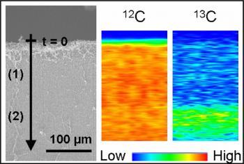 Identification du mode de croissance de multi-couches de nanotubes de carbone alignés