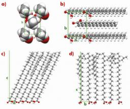 Grazing-incidence X-ray diffraction on Langmuir films: towards atomic resolution