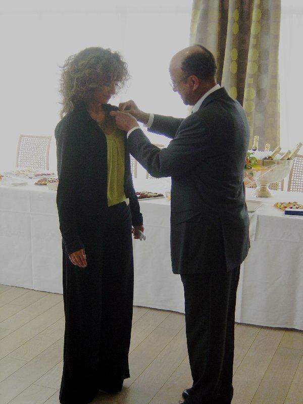 Elisabeth Bouchaud : Chevalier dans l'ordre national du Mérite